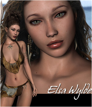Elsa Wylde - Extended License 3D Figure Assets Extended Licenses RPublishing
