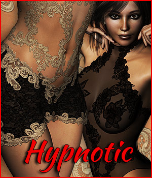 Hypnotic Lingerie - Extended License 3D Figure Assets Extended Licenses RPublishing