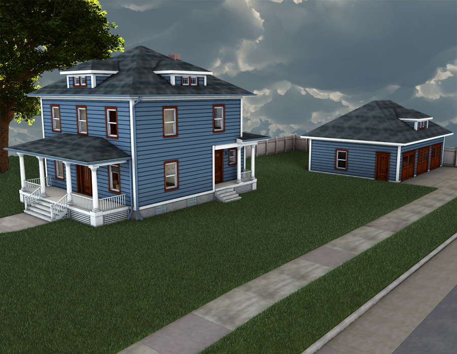 Modern Home 2 - Extended License by RPublishing