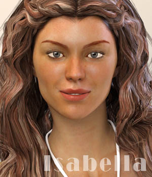 Isabella for Genesis 3 Females 3D Figure Assets xtrart-3d