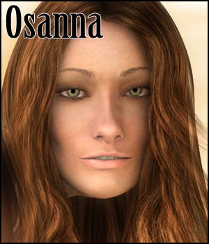 Osanna Character for G2F 3D Figure Assets RPublishing