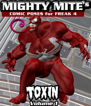 Toxin v01 MM4M 3D Figure Assets MightyMite