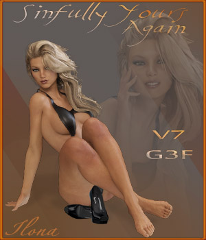 Sinfully Yours Again - G3F - V7 3D Figure Essentials ilona