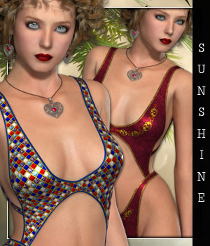 Sunshine for Tiny Bikini IX 3D Figure Essentials sandra_bonello