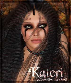 [CB]Kateri V4 and G2F 3D Figure Assets CynderBlue