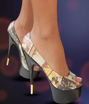 NYC Collection: Foxy Pumps for Genesis 3 Female(s) 3D Figure Essentials 3DSublimeProductions