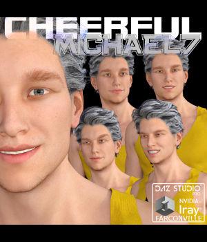 MICHAEL 7 CHEERFUL 3D Figure Essentials farconville