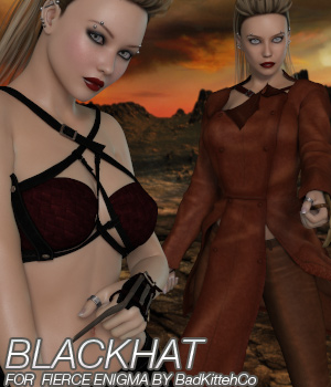 BLACKHAT for Fierce Enigma 3D Figure Essentials Anagord