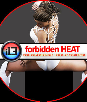 i13 Forbidden HEATMega Organized Pose Collection 3D Figure Essentials ironman13