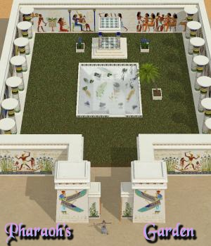 The Pharaoh's Garden 3D Models 3DFineries