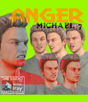 MICHAEL 7 ANGER 3D Figure Essentials farconville