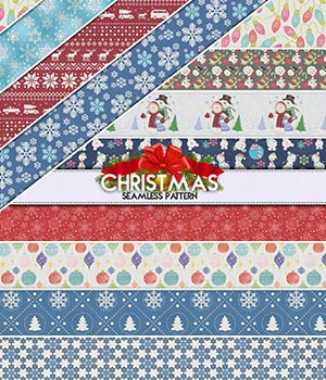 Christmas :: Seamless Pattern 2D Merchant Resources Cyrax3D