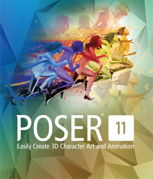 Poser 11 Software Poser Software-Smith Micro Smith_Micro