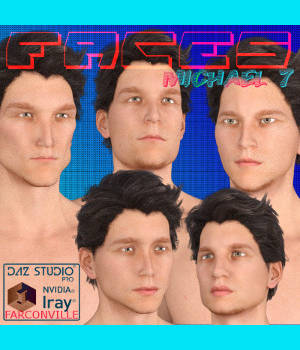 FACES MICHAEL 7 3D Figure Essentials farconville