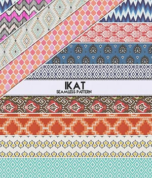 ikat :: Seamless Pattern 2D Merchant Resources Cyrax3D