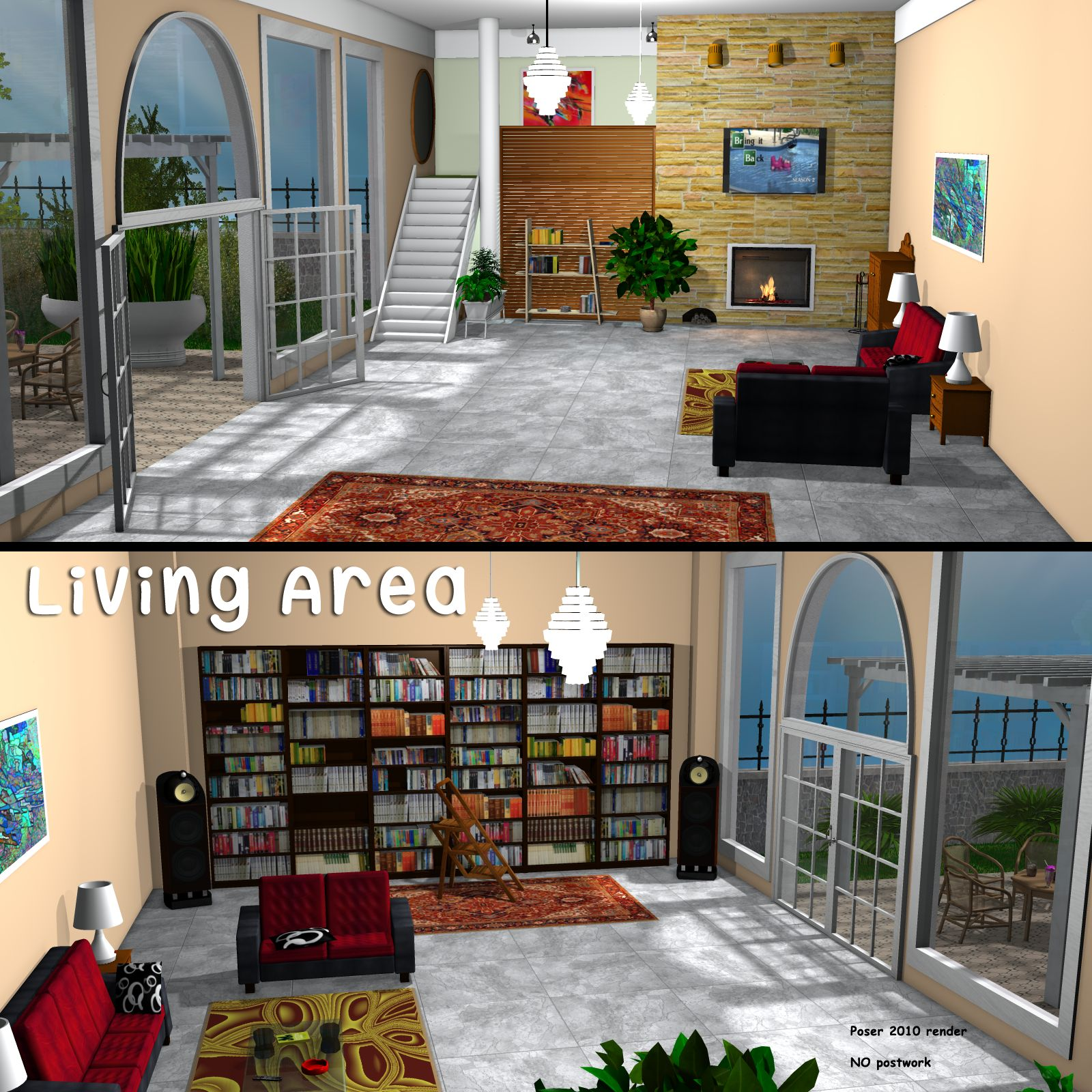 Living Area - Extended License