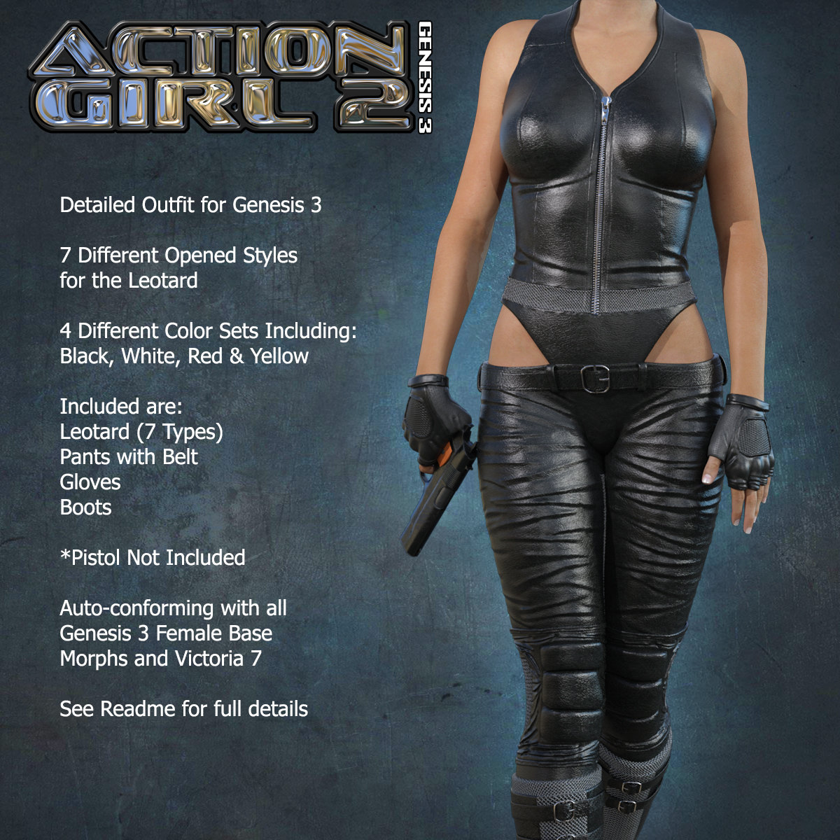 Exnem Action Girl 2 for G3