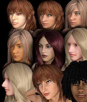 Nose Creator for Genesis 3 Female Merchant Resource 3D Figure Essentials labellamagica