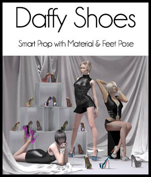 Daffy Shoes 3D Figure Essentials ICRDesign