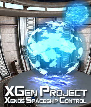 XGen Project, Xenos Spaceship Control Room 3D Models ile-avalon