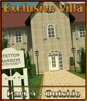 Exclusive Villa 5: Outside Set 3D Models 3-d-c