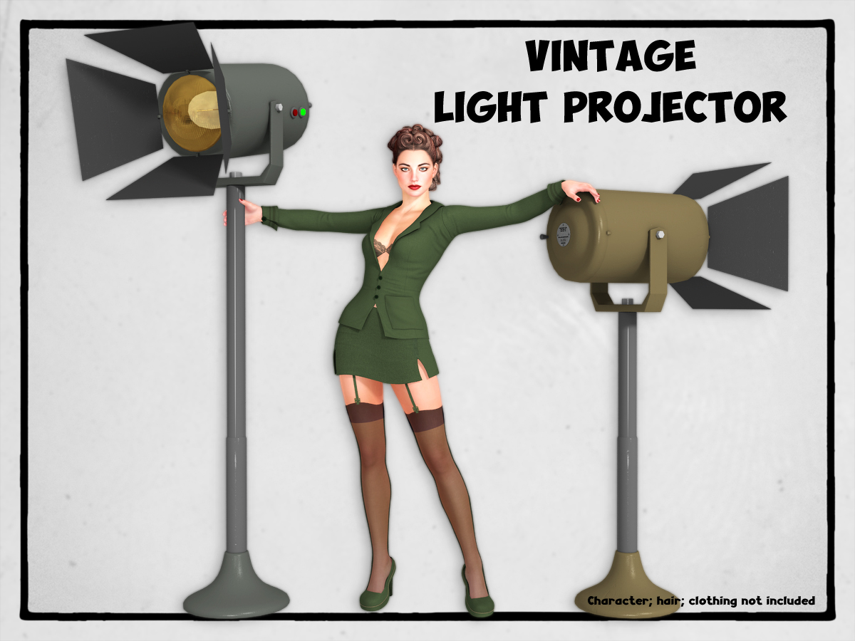 VINTAGE LIGHT PROJECTOR