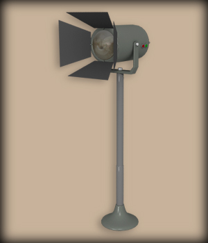 VINTAGE LIGHT PROJECTOR 3D Models EdArt3D