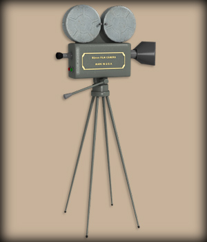 VINTAGE FILM CAMERA 3D Models EdArt3D