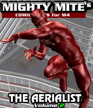 The Aerialist v02 MM4M 3D Figure Assets MightyMite