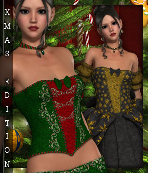 Christmas Edition for Cindarella 3D Figure Essentials sandra_bonello