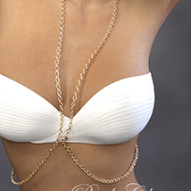 Body Chain for Genesis 3 Female image 3