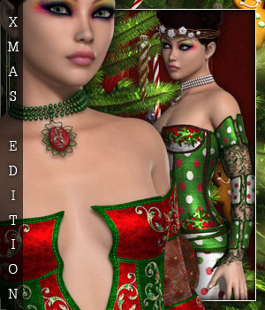 Christmas Edition for Elven Groove 3D Figure Essentials sandra_bonello