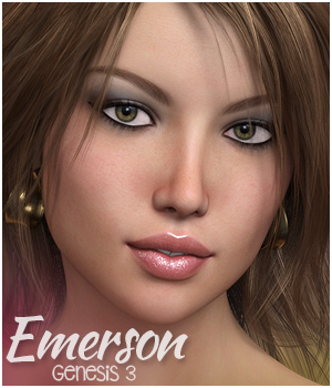 Emerson for Genesis 3 Female(s) 3D Figure Assets 3DSublimeProductions