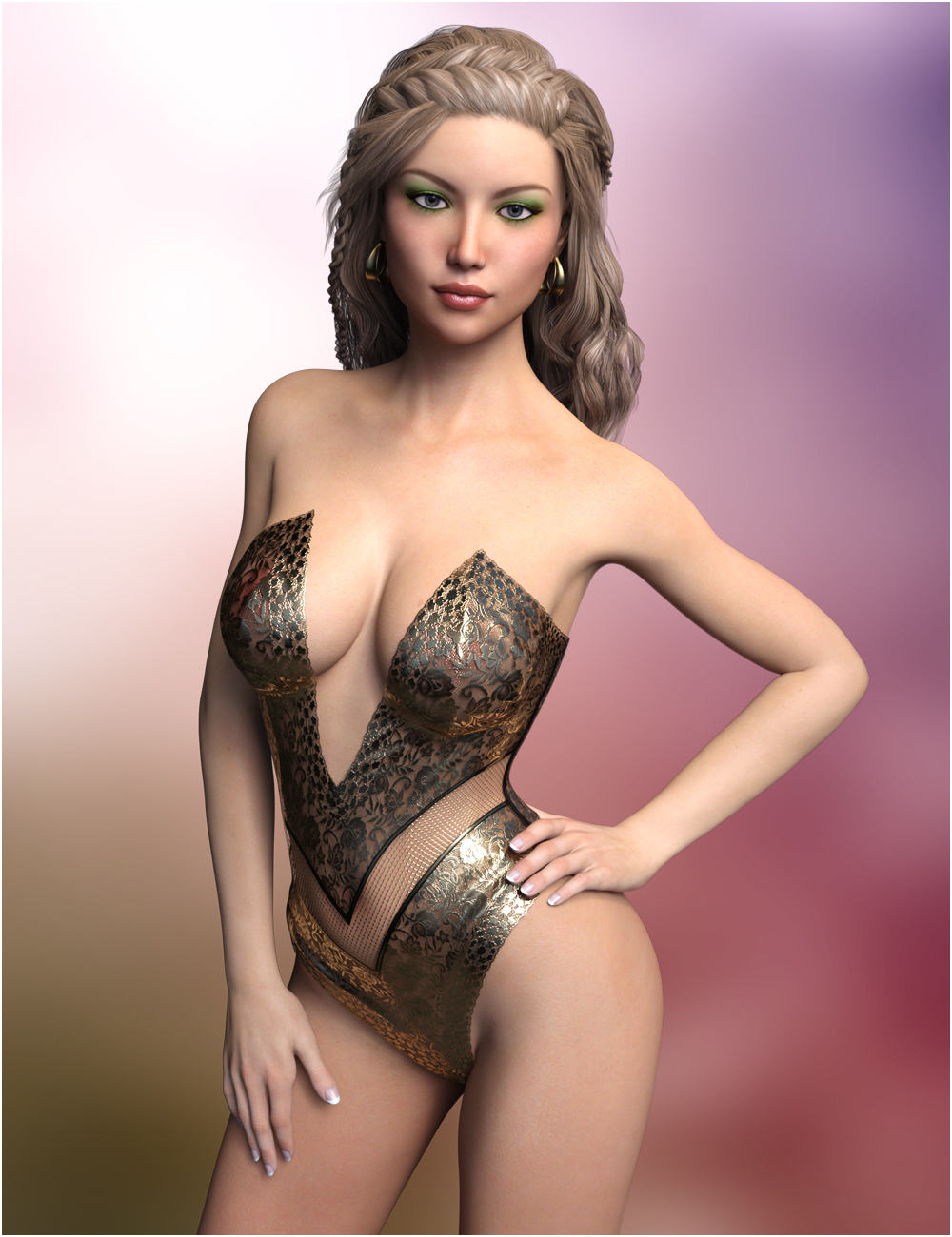 Emerson For Genesis 3 Female(s) 3D Figure Assets ...