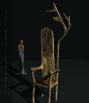 Tribal Thrones  3D Models HWW0