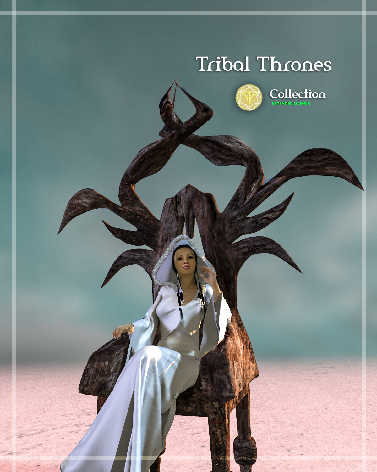 Tribal Thrones - Extended License