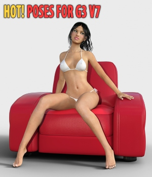 Hot! - Poses for G3\V7 3D Figure Assets hameleon