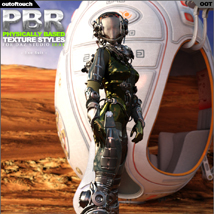OOT PBR Texture Styles for EXO Suit image 2