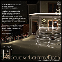 Holiday Lighted Deco image 1