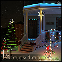 Holiday Lighted Deco image 2