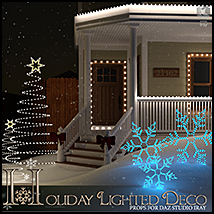 Holiday Lighted Deco image 4
