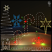 Holiday Lighted Deco image 5