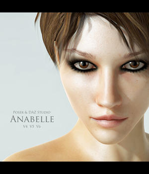 Anabelle for V4, V5 & V6 3D Figure Essentials adamthwaites