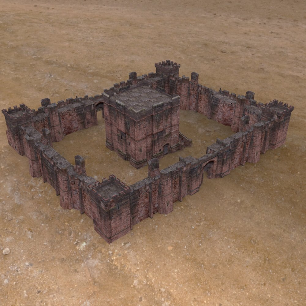 Fortress Keep Construction Set - Poser
