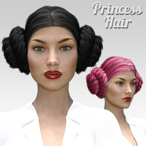Princess Hair for G3 female(s) image 2
