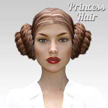 Princess Hair for G3 female(s) image 3