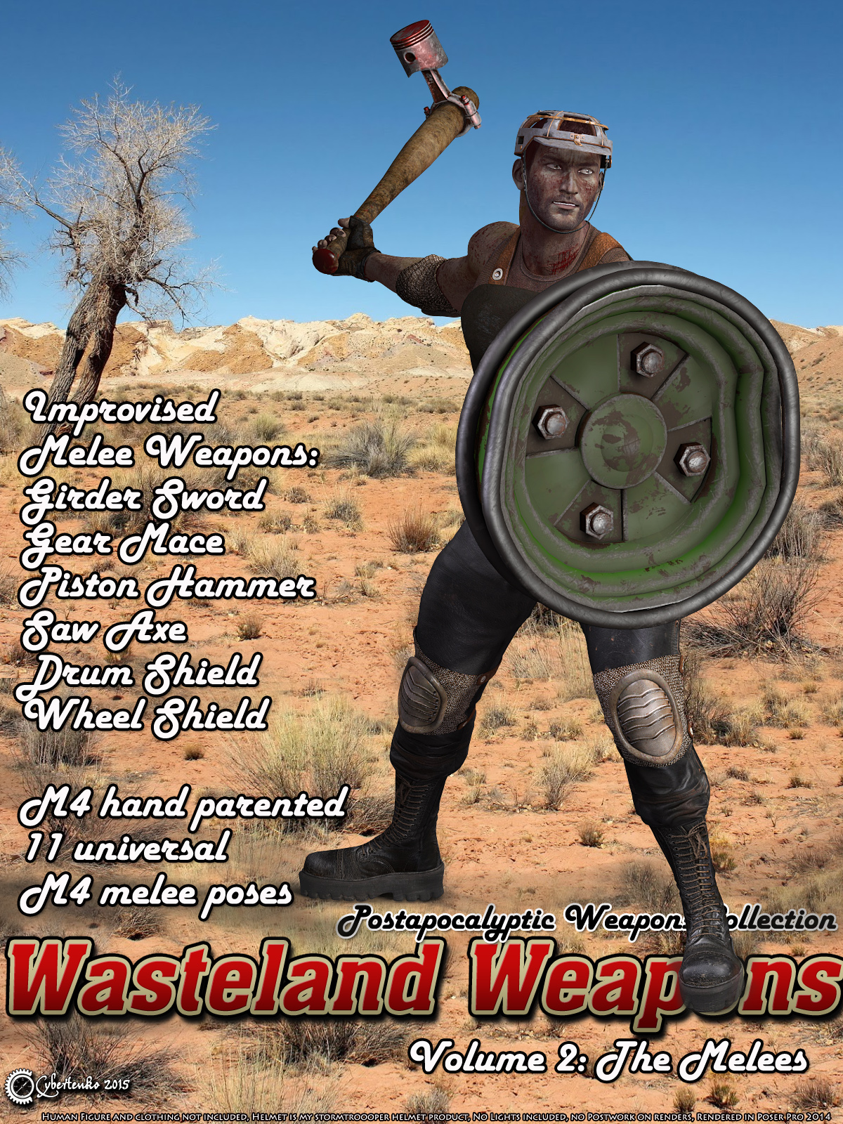 Wasteland Weapons 2: The Melees by Cybertenko
