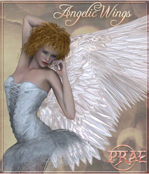 Prae-AngelicWings 3D Figure Essentials 3D Models prae