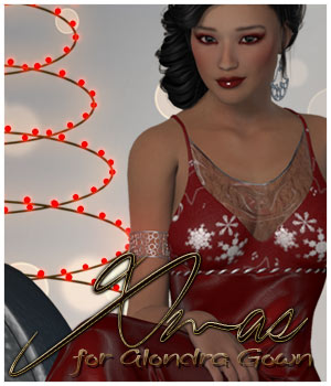 Xmas Alondra I 3D Figure Essentials alexaana