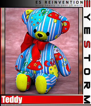 ES - REINVENTION - for ES Teddy 3D Figure Essentials EyeStorm